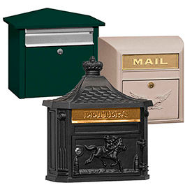Salsbury Front Opening Mail Houses, Modern & Victorian Mailboxes