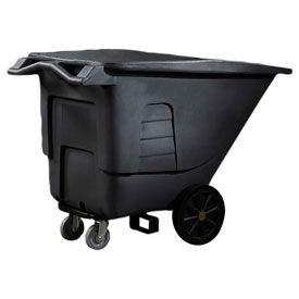Toter® Universal Plastic Tilt Trucks - up to 1-1/2 Cu. Yd. Capacity