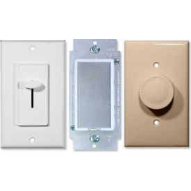 Morris Rotary, Slide, Touch Dimmers & Fan Controls
