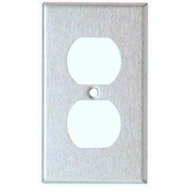 Stainless Steel Duplex Wall Plates