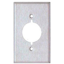 Stainless Steel Range/Dryer Receptacle Wall Plates