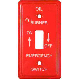 Emergency Metal Switch Plates