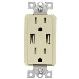USB Chargers & Tamper Resistant Duplex Receptacles
