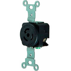Morris Products Twist Lock Wall Mount Receptacles