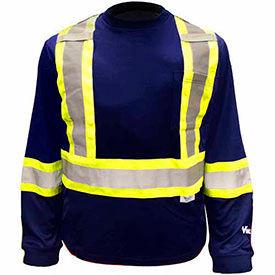 ANSI Class 1 - Hi-Visibility Long Sleeve Shirts