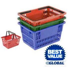 Plastic Shopping Baskets