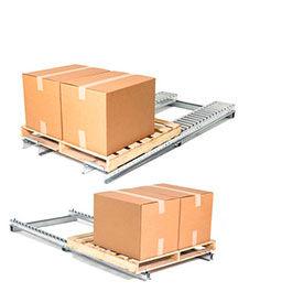 UNEX® Pallet Track Steel Floor Conveyors