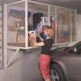 Folding Guard Garage Storage Ventilated Locker