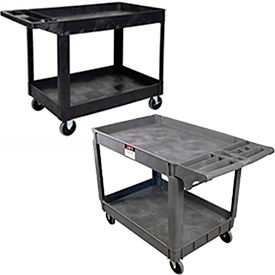 Jet ® & Luxor ® Deluxe Plastic Service & Utility Carts