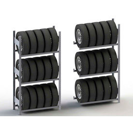 Meta Storage Boltless Tire Racks