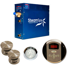 SteamSpa Steam Generator Packages
