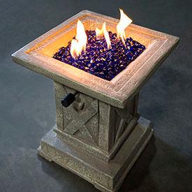 Fire Pit Glass
