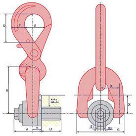Double Swivel Hooks