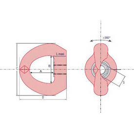 Swivel Eye Bolts (Female)