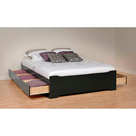 Prepac Manufacturing -  Coal Harbor Platform Storage Beds