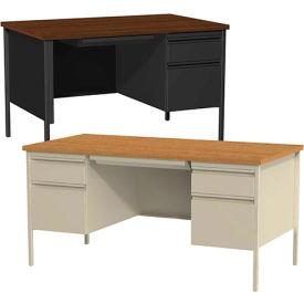 Hirsh Industries® - HL10000 Series Commercial Steel Pedestal Desks