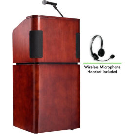 Lecterns With Microphones Podiums With Sound Systems
