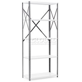 Steel Shelving - Post & Brace Kits