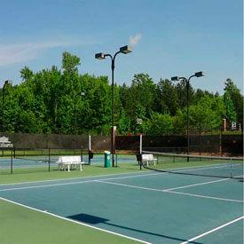 Tennis Court Wind Screens