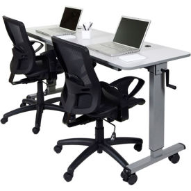 Luxor Adjustable Height Training Tables