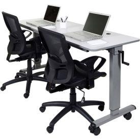 Luxor Adjustable Height Training Tables