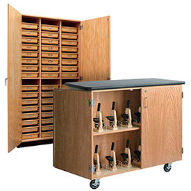 Science Lab Storage Cabinets