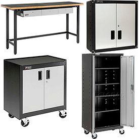 Homak Steel Garage Furniture