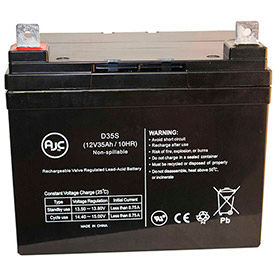 AJC® Brand Replacement Wheelchair Batteries for Piller