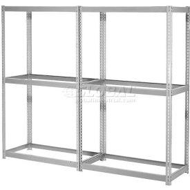 7'H Expandable Bulk Metal Storage Rack Without Deck