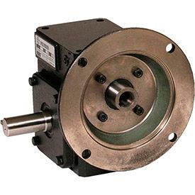 Worldwide Electric, Cast Iron Worm Gear Reducers, Flange Input-Shaft Output, Left