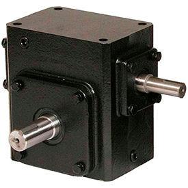 Worldwide Electric, Cast Iron Worm Gear Reducers, Shaft Input-Shaft Output, Left