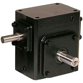 Worldwide Electric, Cast Iron Worm Gear Reducers, Shaft Input-Shaft Output, Right