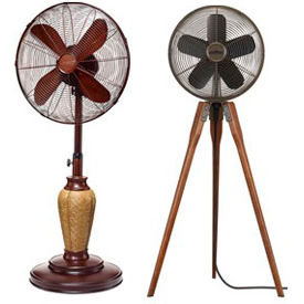 Decorative Pedestal & Floor Fans