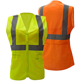Women's Class 2 Hi-Visibility Vests
