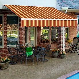 Awntech 10'W Heavy-Duty Manual Retractable Awnings