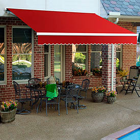 Awntech 14'W Heavy-Duty Manual Retractable Awnings
