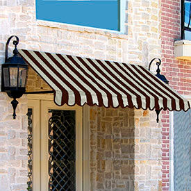 Awntech 3-5/16'W Open-Sided Slope Awnings