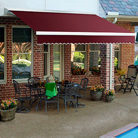 Awntech 10'W Medium-Duty Manual Retractable Awnings