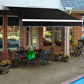 Awntech 10'W Medium-Duty Motorized Retractable Awnings