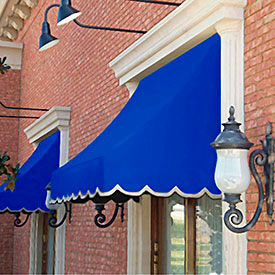 Awntech 10-3/8'W Crescent Shaped Awnings