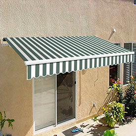 Awntech 12'W Medium-Duty Manual Retractable Awnings