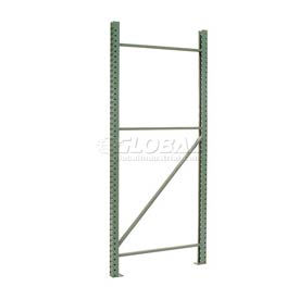 Global - Tear Drop Pallet Rack Upright Frames & Accessories