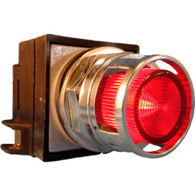 Springer Controls 30mm Illuminated Push Buttons, Guarded