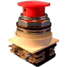Springer Controls 30mm Mushroom-Head Push Buttons