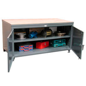 Strong Hold® Cabinet Workbenches