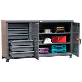 12 Gauge Multi-Storage Cabinet Workbenches