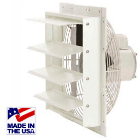 Air-Flo Fiberglass Shutter-Mount Exhaust Fans