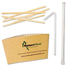 Straws, Stirrers & Sleeves