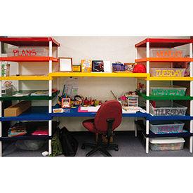 Prairie View Colored Aluminum Shelves