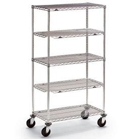 Metro® qwikSLOT™ Wire Shelf Trucks & Utility Carts